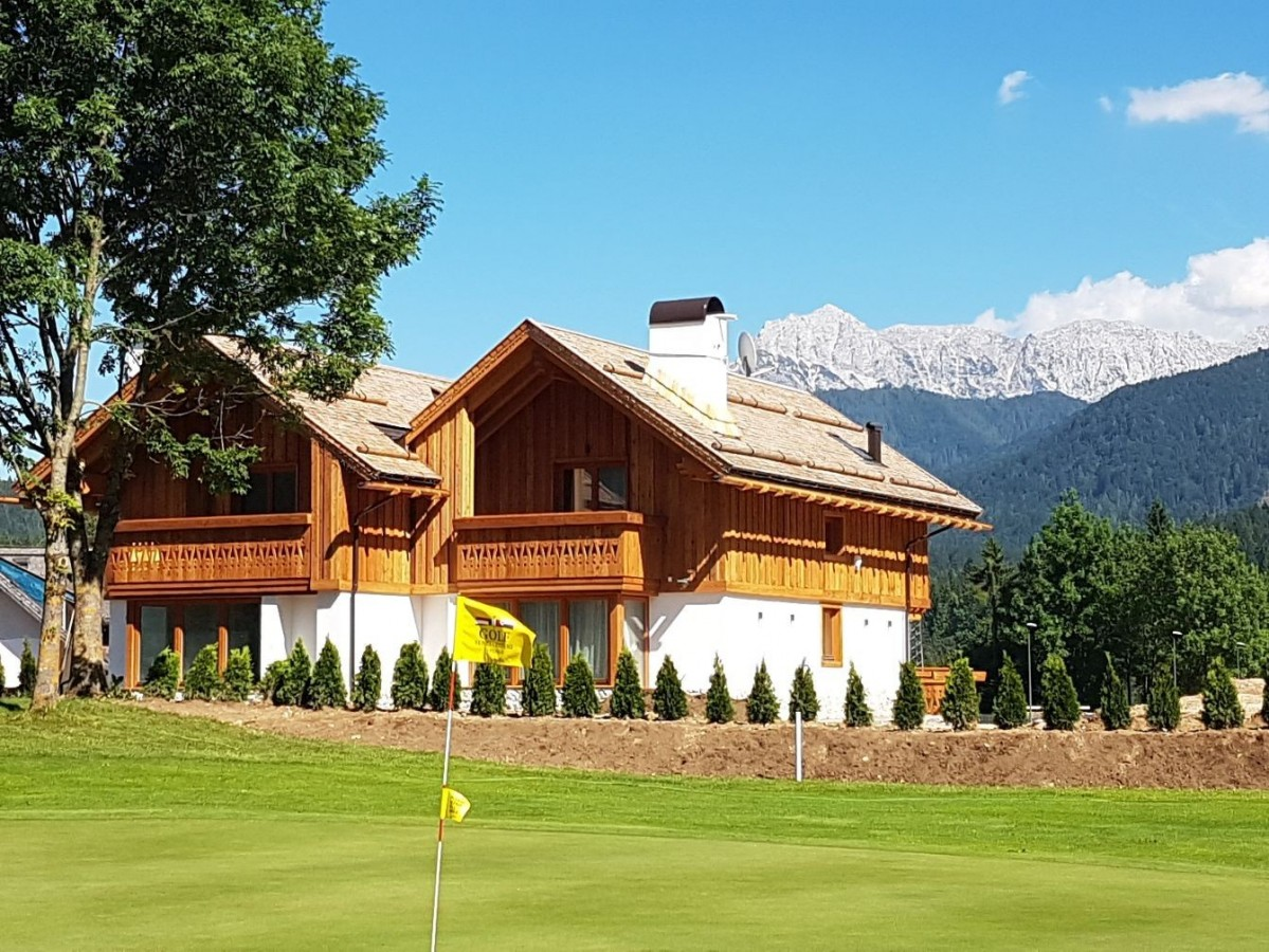 Chalets on the golf course